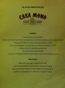 CASA MONO