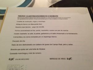 CHIRON. Carta 2