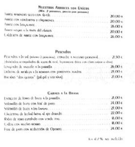 PEDRALBES. Carta 2