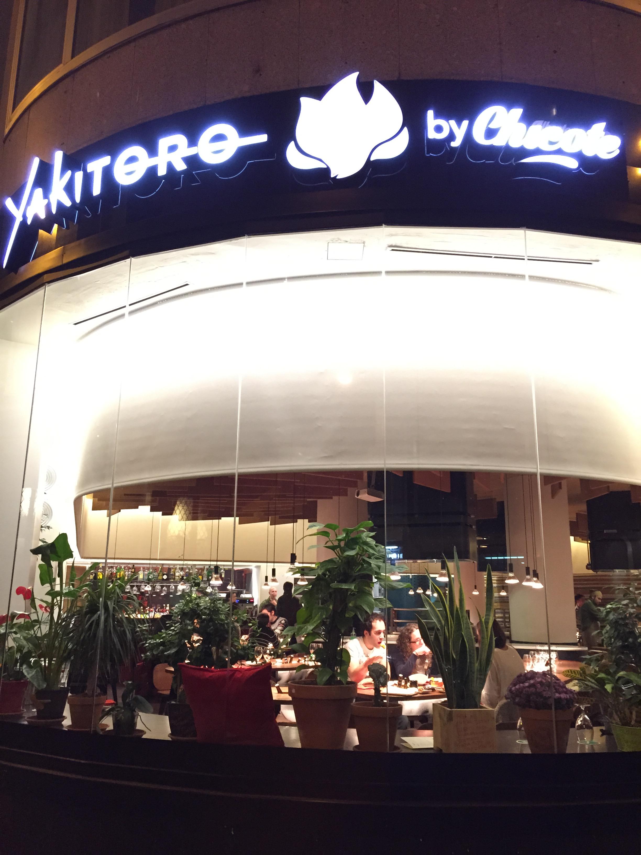 YAKITORO BY CHICOTE | Dime un restaurante…