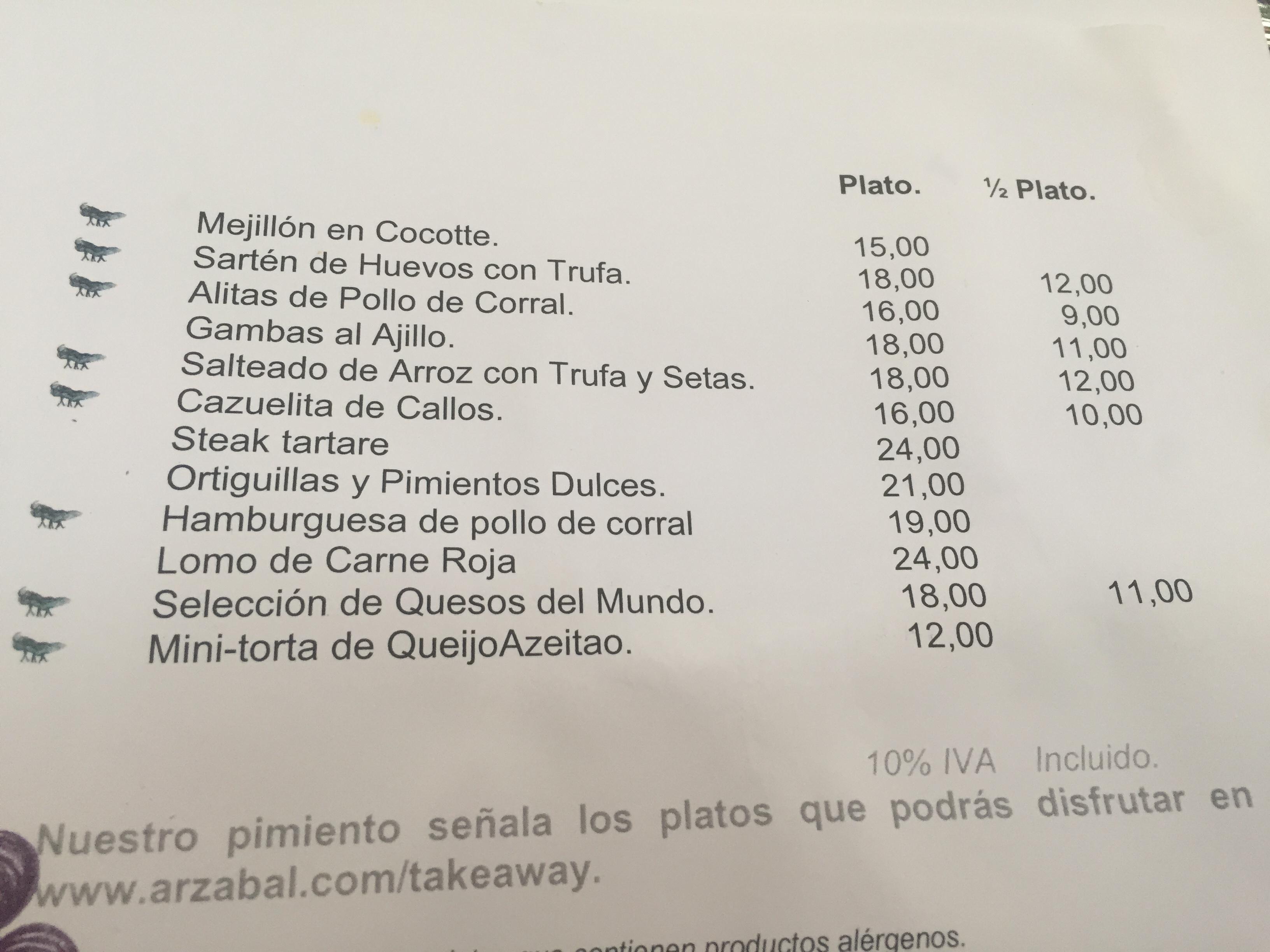 Arzabal Reina Sofia Dime Un Restaurante