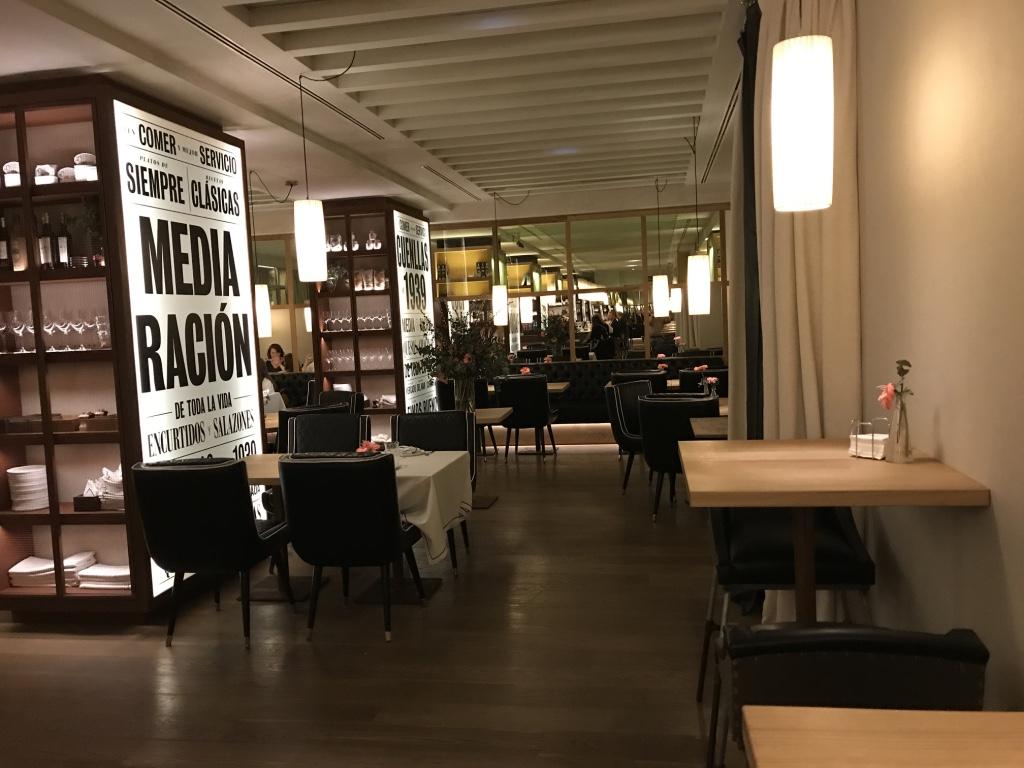 Media raci n dime un restaurante - Restaurante cuenllas madrid ...